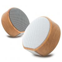 Retro wood grain speaker Audio TF Card USB Handsfree wireless speaker Manufactures