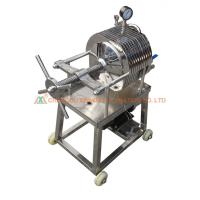 China Juice Tea Leaf Filter Press Machine , Automated Filter Press Stable Working on sale