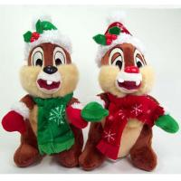 20cm Cartoon Disney Plush Toys Dale and Chip Charistmas Stuffed Animals Manufactures