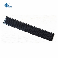 China ZW-17028 Customized light weight solar panel 0.6W 5.5V High Conversion solar cell phone charger on sale