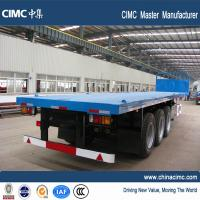 three axle 40 foot car manufacturer flatbed trailer - CIMC Vehicle Manufactures
