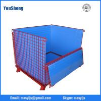 Quality Security customized qualified insulated roll container wire mesh cage for warehouse storage for sale