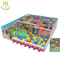 China Hansel children fun amusement parks play equipment indoor soft play equipment on sale