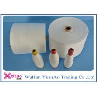 Colored Top Dyed Polyester Yarn /  Spun Polyester Sewing yarn Eco-Friendly Manufactures