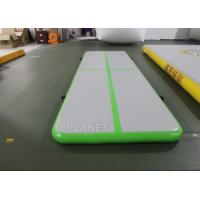 3.5m Air Floor Tumbling Mat / Inflatable Air Jump Track For Gymnastics Manufactures