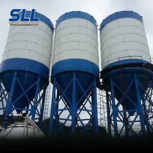 China Horizontal Design Grain Storage Silo , LSY230 100 Ton Bulk Cement Silo on sale