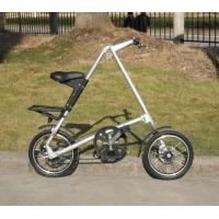 Foldable Bike Alloy Wheels Belt Drive Bicycle 100KG Maximum Rider Weight Durable Manufactures