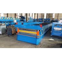 Buy cheap Trapezoidal Double Layer Roll Forming Machine With Hydraulic Decolier from wholesalers