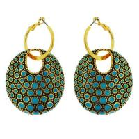 Resin Fashion Online Artificial Jewelry Earring (SIE0617G-V03) Manufactures