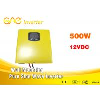 China dc to ac off grid pure sine wave inverter 500w 12V for home supply wall - mounting on sale