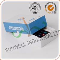 Cardboard Handmade Electronics Packaging Boxes For Counter Packing Custom Printed Manufactures