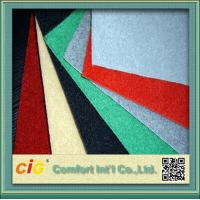 Eco friendly Exhibition Velour Carpet Cloth for Hotel or Car Upholstery Manufactures