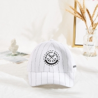 Buy cheap Marino Madi white color black strip hip-hop baseball cap hat from wholesalers