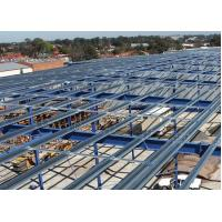 Hot-Rolled Industrial Steel Buildings Fabrication For Portable Cabins Manufactures