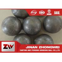 55-65HRC Hardness forged steel grinding ball , ball milling media Manufactures