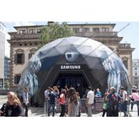 SAMSUNG Geodesic Dome Shelter For High Level Event Organizers , Companies Manufactures