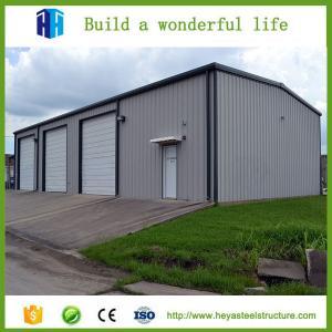 2017 Metal workshop prefabricated steel structure warehouse building Manufactures