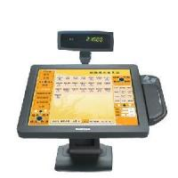 Mapletouch 17LCD POS Touch Screen Monitor with Customer Display and Magnetic Swipe Card Manufactures