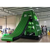 Green Water Floating Inflatable Aqua Park High Strength And Durable Manufactures