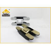 Metal 180 Degree 3d Concealed Adjustable Gate Hinges Heavy Duty Manufactures