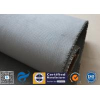 Quality Grey Silicone Coated Fiberglass Fabric 47OZ 1.3MM Electrical Insulating for sale