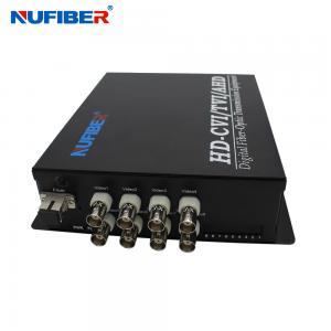 HD-CVI AHD TVI 1080P Fiber Coaxial Video Converter 8BNC 1 Fiber Video Transmitter and Receiver for HD Cameras Manufactures