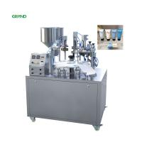China Semi Automatic Plastic Tube Filling And Sealing Machine Grease Cosmetic Toothpaste on sale
