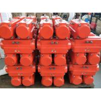 China Ball Valve  Butterfly Valve Mounted With Epoxy Coated Pneumatic Rotary Actuator on sale