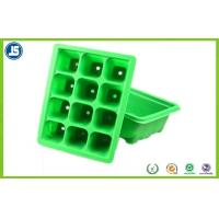 Nursery Plant Trays Blister Packaging Tray Green With PS / PLA , QS IS9001 Manufactures