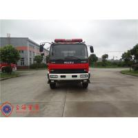 ISUZU Branding CAFS Fire Truck Large Capacity 3600 L/Min Rated Flow Rate Manufactures