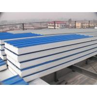 Blue EPS Waterproof Structural Insulated Panels Galvanized , Corrosion Resistance Manufactures