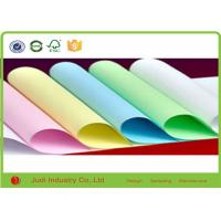 China Fancy Design 21 gsm Bulk Colored Tissue Paper Solid Color For Decorative on sale