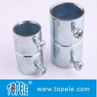 "1/2"" To 4"" EMT Conduit And Fittings Steel Set Screw EMT Conduit Coupling American Standard Manufactures"