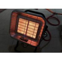 Piezo Igniter Infrared Gas Heaters , Flameout Protection Small Infrared Space Heater Manufactures