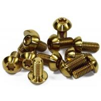 China Customized Titanium Motorcycle Bolts Gr5/TC4 Titanium Bolts Anodized GR5 Ti6al4v  (GR1 GR2 GR5 on sale