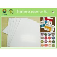 Specialty Full 80gsm Art Paper Rolls , Recycled Craft Paper Wood Pulp Material Manufactures