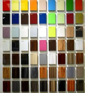 18mm wood veneer high gloss uv mdf for furniture Manufactures