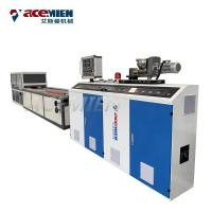 PE PP PVC Wood Plastic Composite Production Line Window Profile Ceiling Board Manufactures
