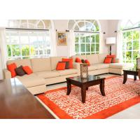 Sectional Sofa And Coffee Table Wooden Lobby Furniture For Hotel Living Room Manufactures