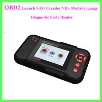 Launch X431 Creader VII+ Multi-language Diagnostic Code Reader Manufactures