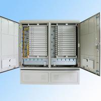 IP 65 576FO Street Fiber Optic Joint Box Cabinet Stainless steel SMC Housing Manufactures