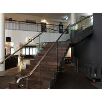 Adjustable 304 Stainless steel standoff for staircase glass railing Manufactures