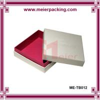 High end paper packaging box for garment clothing ME-TB012 Manufactures