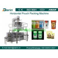 Horizontal Automatic Pouch Packing Machine , Stand-up Zipper Rotary Pouch Packing Machine Manufactures