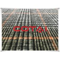 80 Wool 20 Polyester Double Sided Tartan / Plaid Fabric With Gray Twill Inside Coating Wool Fabric Manufactures
