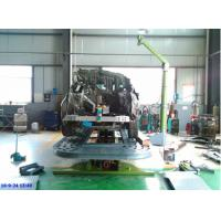 Lifting and pulling platform tilt deck steel plate auto body frame machine Manufactures
