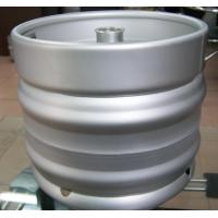Popular AISI 304  Food grade stainless steel container drum draft empty Euro beer keg 30L barrel Manufactures