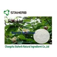 Magnolia Bark Antibacterial Plant Extracts Anti - Oxidant 2%-98% Honokiol By HPLC Manufactures