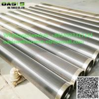 China China supplier Johnson screen pipe water well screen continuous slot wire wrapped stainless steel screen on sale