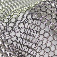 Quality Decorative Ring Mesh Curtain , SS Metal Chain Room DividerCustomized Size for sale